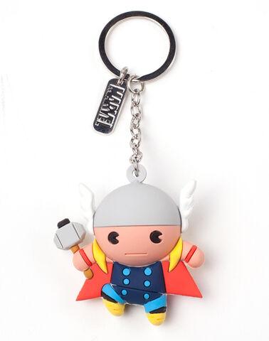 Porte-clés - Marvel - Thor Kawaii 3D - En caoutchouc