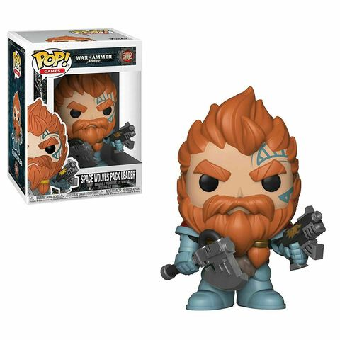 Figurine Funko Pop! N°502 - Warhammer 40k - Space Wolves Pack Leader