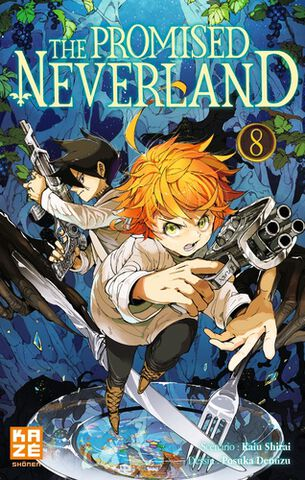 Manga - The Promised Neverland - Tome 08
