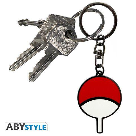 Porte-clés - Naruto Shippuden - Symbole Uchiwa