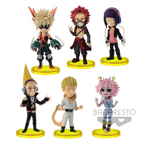 Figurine World Collectable - My Hero Academia - Assortiment 6 Figurines