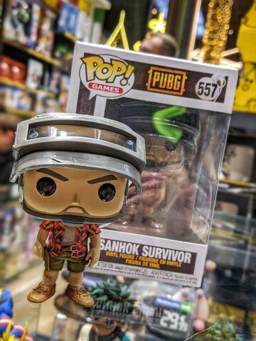 Figurine Funko Pop! N°557 - Pubg - Hawaiian Shirt Guy Sanhok Survivor