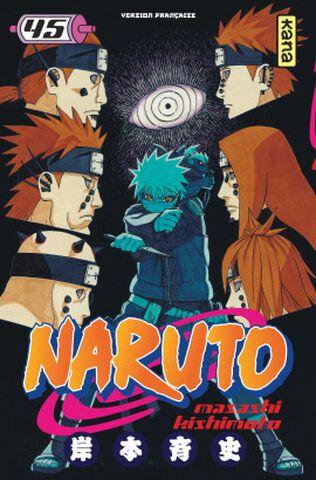Manga - Naruto - Tome 45