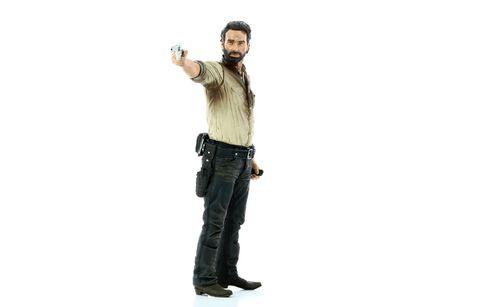 Figurine Mc Farlane Toys - The Walking Dead - Rick Grimes 25 cm