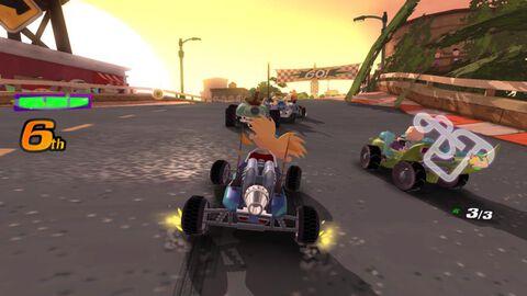 Nickelodeon Kart Racer