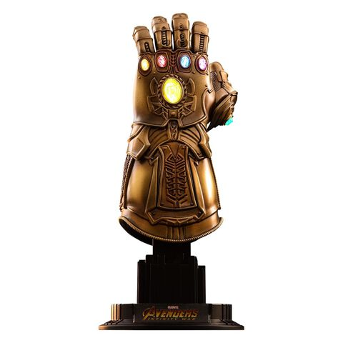 Réplique Hot Toys - Avengers : Infinity War - Gant de l'Infini 17 cm