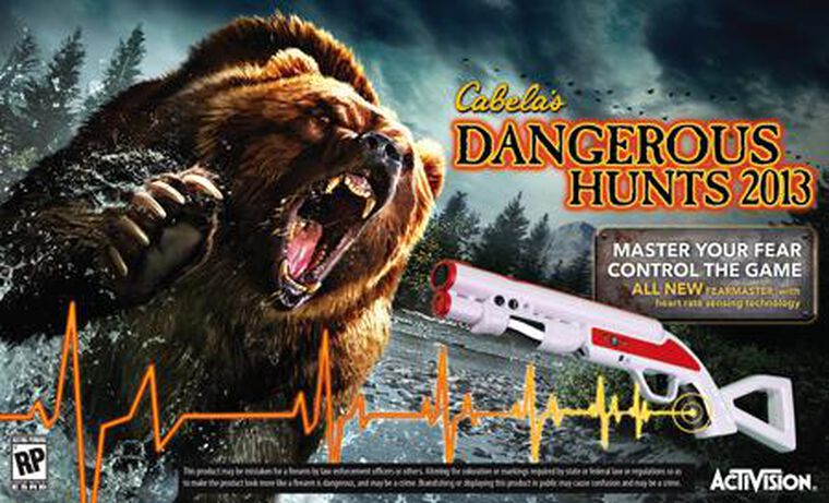 Cabela's Dangerous Hunt 2013 + Fusil