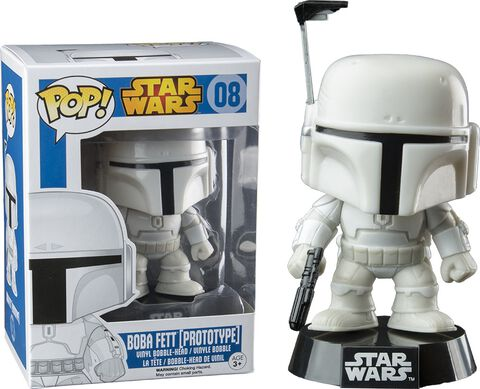 Figurine Funko Pop! N°08 - Star Wars - Exc. Prototype Armor Fett