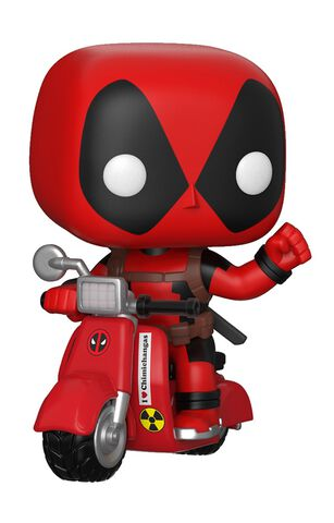 Figurine Funko Pop! N°45 - Deadpool - Ride Deadpool Et Scooter