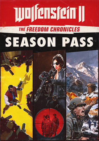 Wolfenstein II : The Freedom Chronicles - Season Pass - Version digitale