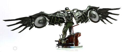 Statuette Iron Studios - Spider-man Homecoming - Vulture Battle Diorama Scene 1