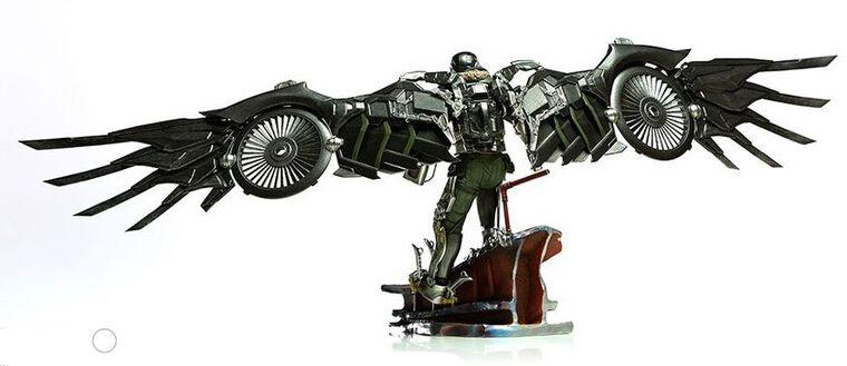 Statuette Iron Studios - Spider-Man Homecoming - Vulture Battle Diorama Scene 1/