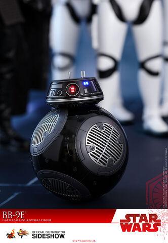 Figurine Hot Toys - Star Wars Episode VIII -  Bb-9e - Masterpiece 1/6