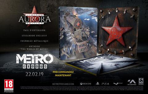 Metro Exodus Edition Limitée Aurora