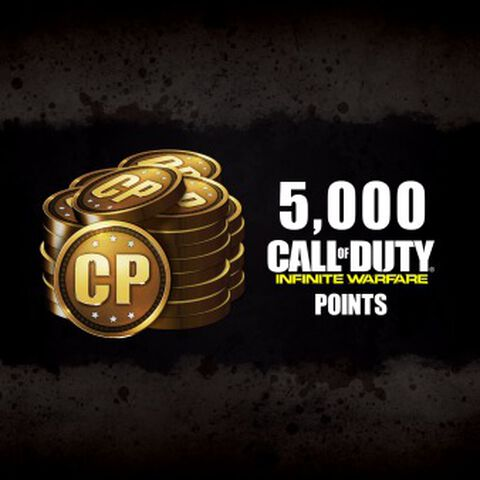 DLC - Call of Duty Infinite Warfare 5000 Points - PS4