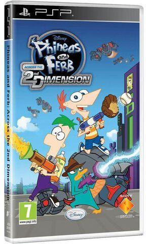 Phineas & Ferb : Voyage Dans La Deuxième Dimension