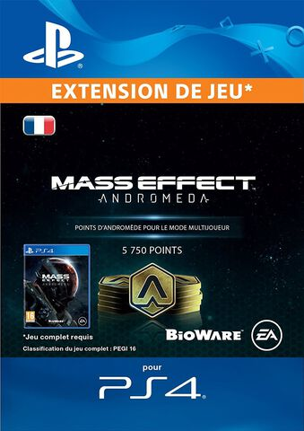 DLC - Mass Effect Andromeda 5750 Points