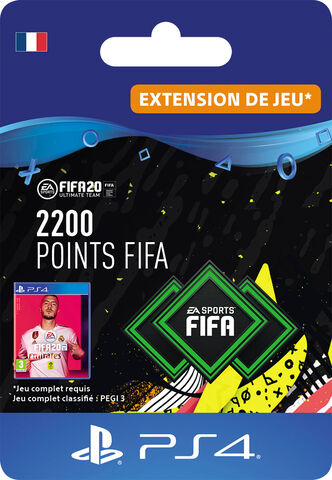FIFA 20 - Ps4 - FIFA Ultimate Team - 2200 Pts