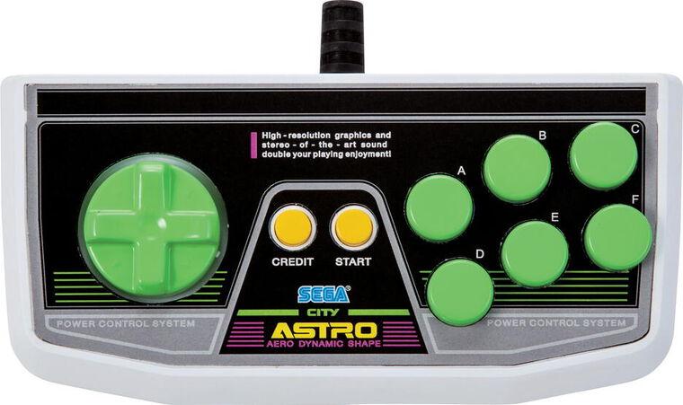 Manette Sega Astro City Mini