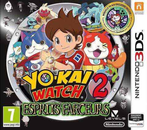 Yo-Kai Watch 2 - Esprits Farceurs + Médaillon