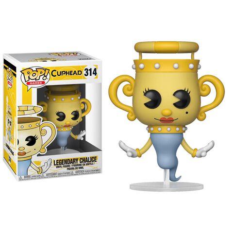 Figurine Funko Pop! N°314 - Cuphead - Série 1 Fantôme Légendaire