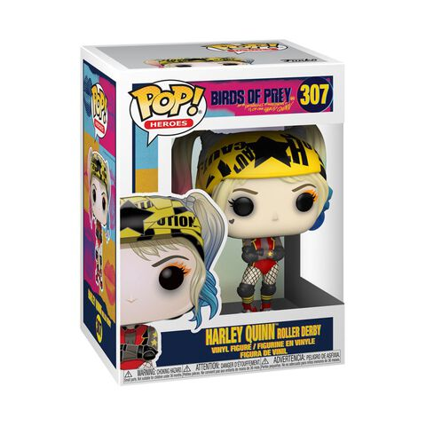 Figurine Funko Pop! N°307 - Birds Of Prey - Harley Quinn En Roller