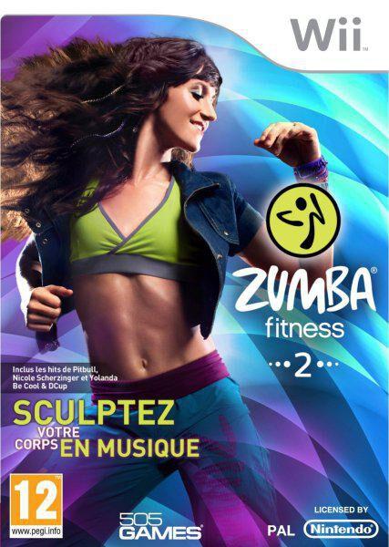 Zumba fitness 2 - Sculptez votre corps en musique - Nintendo Wii