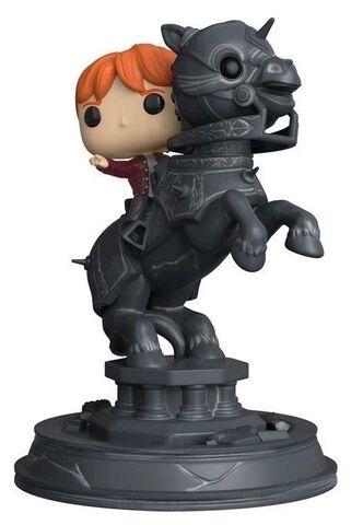 Figurine Funko Pop! Moment N°82 - Harry Potter - Série 5 Ron sur pièce d'échiquier