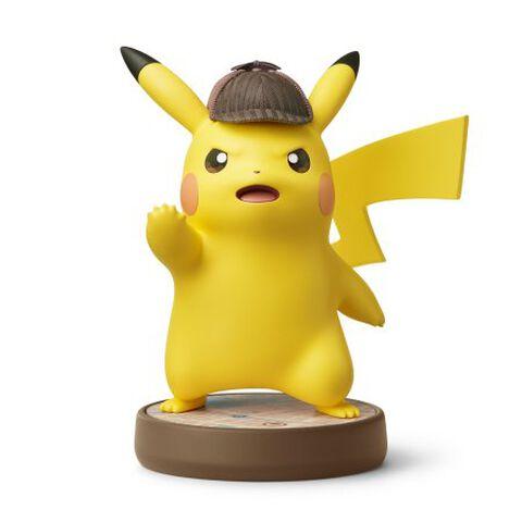 Figurine Amiibo Detective Pikachu Detective Pikachu