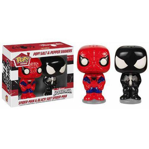 Saliere et Poivriere - Marvel - Spider-Man et Spider-Man Noir