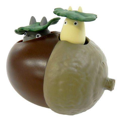 Figurine Ghibli - Mon Voisin Totoro - Totoro Sur Son Gland à Remonter