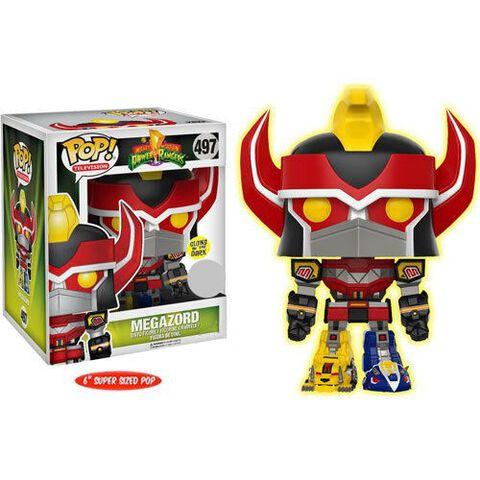 Figurine Funko Pop! N°497 - Power Rangers - Megazord (gitd)