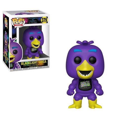 Figurine Funko Pop! N°379 - Five Nights at Freddy's - Blacklight Chica
