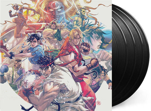 Vinyle Street Fighter III The Collection 4lp Box Set