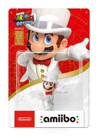 Figurine Amiibo Super Mario - Mario Tenue de mariage