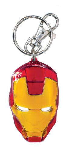 Porte-cles - Iron Man - Masque En Métal