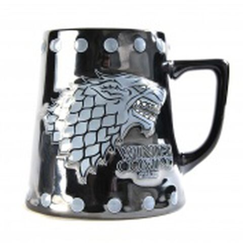 Chope - Game Of Thrones - Emblème Stark En Relief (exclu Micro)