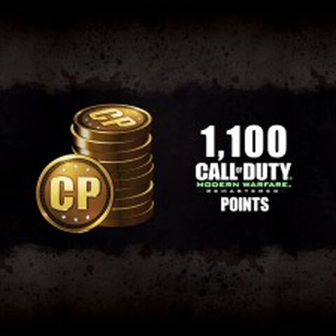 DLC - Call of Duty : Modern Warfare Remastered - 1100 points