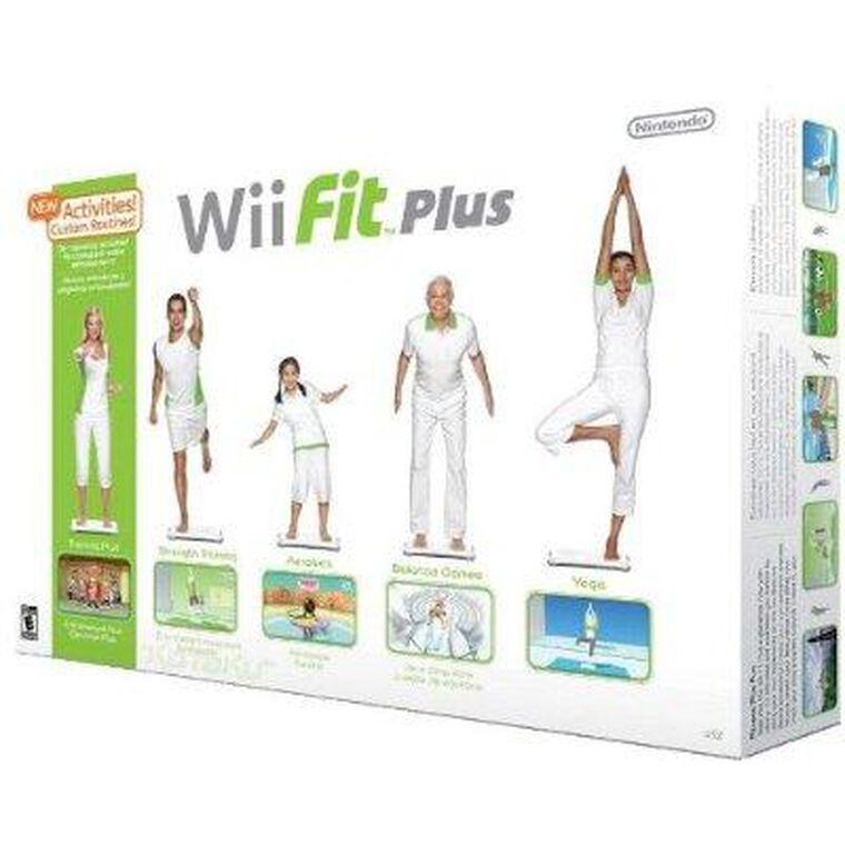 Wii Fit Plus + Wii Balance Board