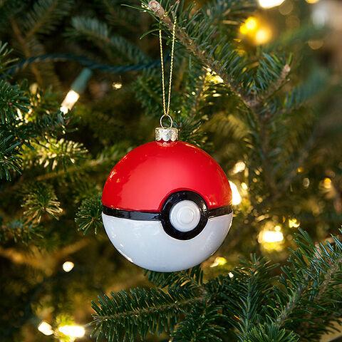 Boules De Noel - Pokemon - Pokéball En Verre