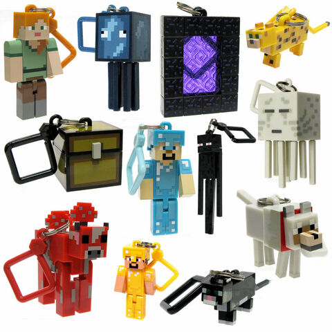 Porte-clés - Figurine 6 cm Minecraft Série 2