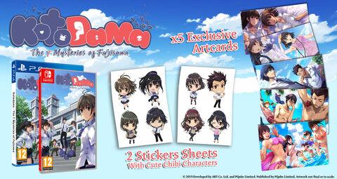 Kotodama The Seven Mysteries Of Fujisawa D1 Edition