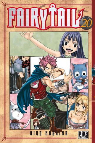 Manga - Fairy Tail - Tome 20