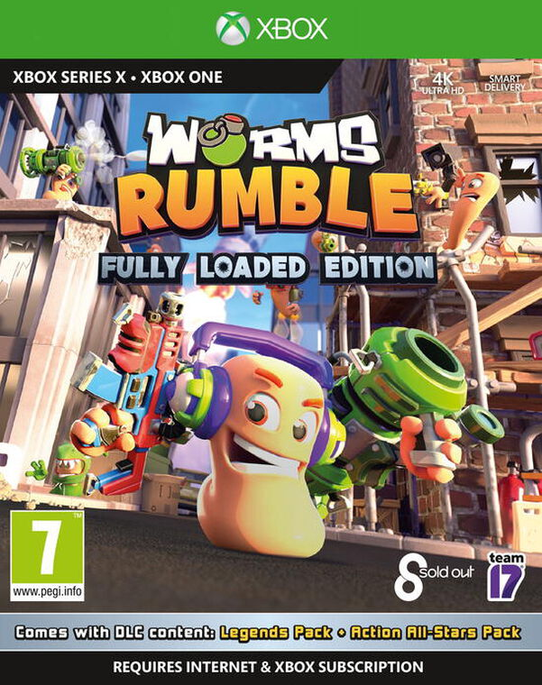 Worms Rumble Fully Loaded Edition