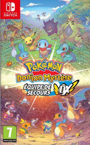 Pokemon Donjon Mystere Equipe De Secours Dx
