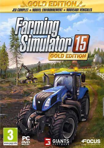 Farming Simulator 15 Edition Gold