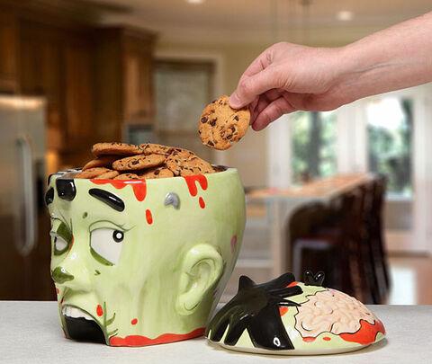 Boite à Cookies - Thinkgeek Tête de zombie