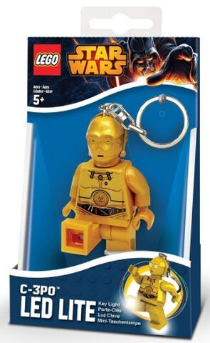 Porte-cles - Star Wars - Led C3po