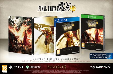 Final Fantasy Type 0 Hd Limited Exclu Micromania