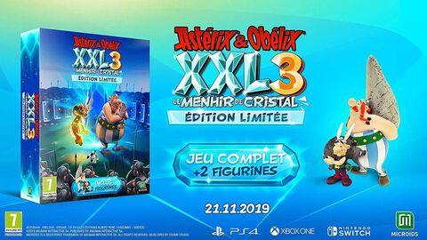 Asterix Xxl 3 Le Menhir De Cristal Edition Limitée